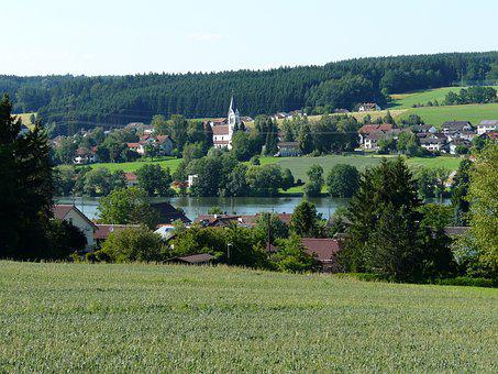 Passau, Scarf Thing, Niederbayern, Danube, Bavaria