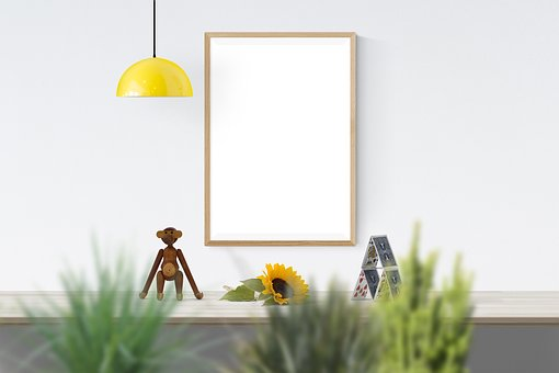 Poster, Frame, Toy, Plants, Sunflower