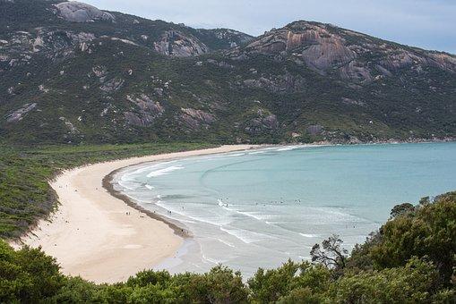Beach, Ocean, Sea, Water, Sand, Nature, Coast, Cove