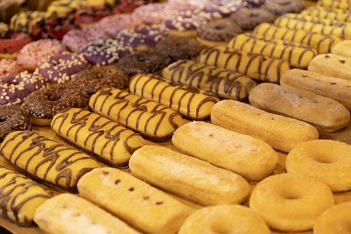 Vanilla, Donuts Filling, Sweet, Croissants, Gula