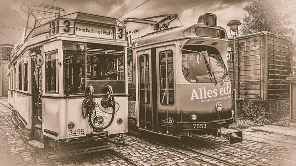 Tram, Old, Retro, Sw, Transport, Traffic, Train, Dare