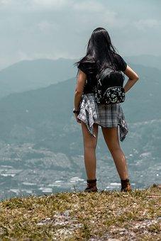 City, Girl, Women, Female, Loneliness, Human, Travel