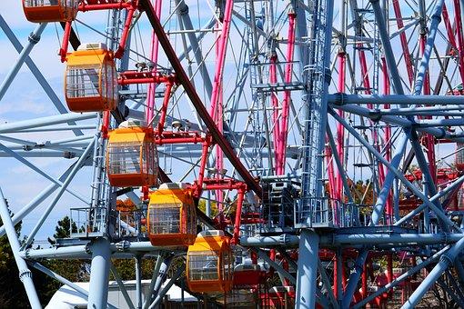 Ferris Wheels, Amusement, Park, Joy, Cargoes