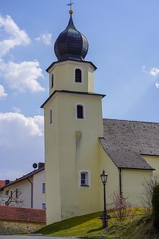 Church, Bavaria, Chapel, Steeple, Architecture