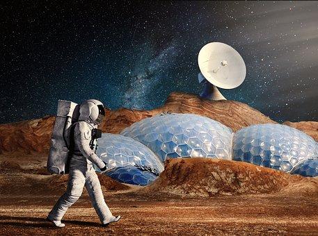 Cosmonaut, Astronaut, Astronomy, Science, Planet