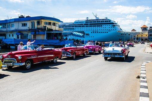 Cars Classic, Havana, Classic Car, Cruise, Classic