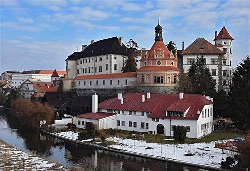 Jindřichův Hradec, Castle, Roundel, Architecture, Czech