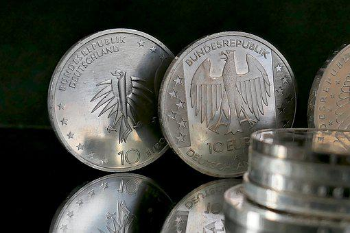 Euro, Coin, Finance, Coins, Europe, Specie, Metal Money