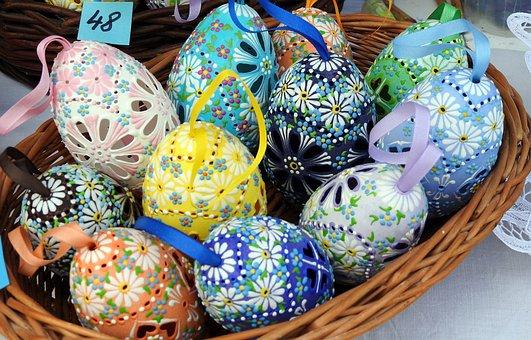 Easter Eggs, Easter Holidays, Easter, Handicraft