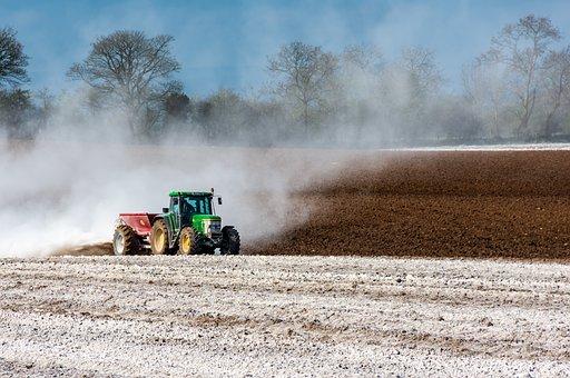 Tractor, Field, Agriculture, Farmer, Rural, Farm