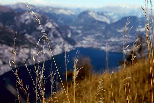 Italy, Monte Baldo, Garda, Focus, From Above, North