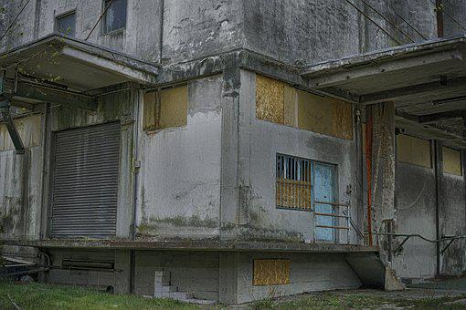 Factory, Old, Ruin, Abandoned, Building, Hall