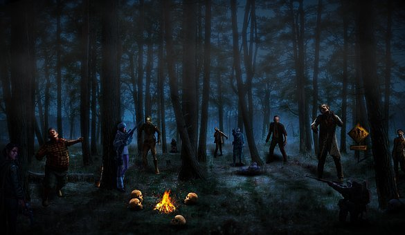 Zombie, Survivors, Haunted, Restricted, Radio-active