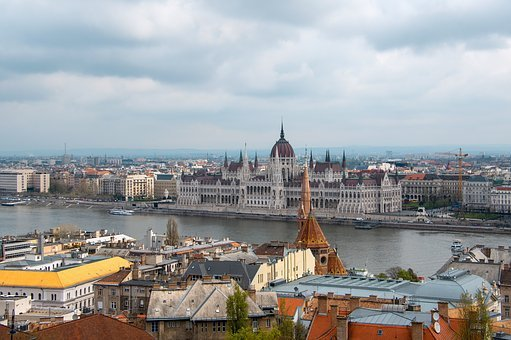 Hungarian, Parliament, Buda Castle, Scape, Hungary