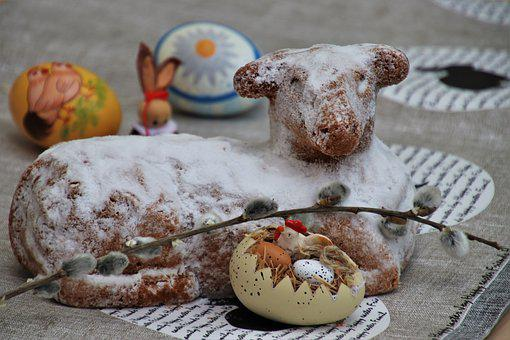 Easter Eggs, Lamb, The Basis Of, Easter Holidays