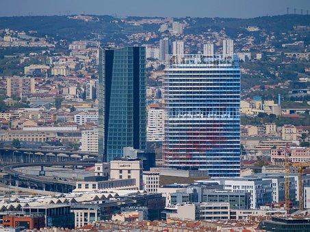 Cma Cgm, The Marseillaise, Tower, Marseille, Tourism
