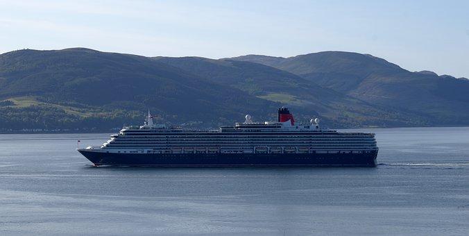 Queen Victoria, Cruise, Ship, Liner, River, Clyde