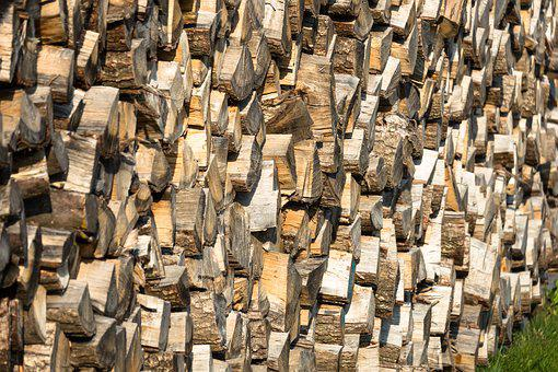 Holzstapel, Wood, Firewood, Storage, Stacked Up, Stock