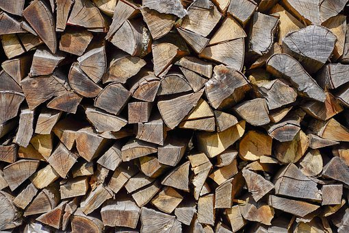 Wood, Pile Of Wood, Firewood, Structure, Drawing, Stack