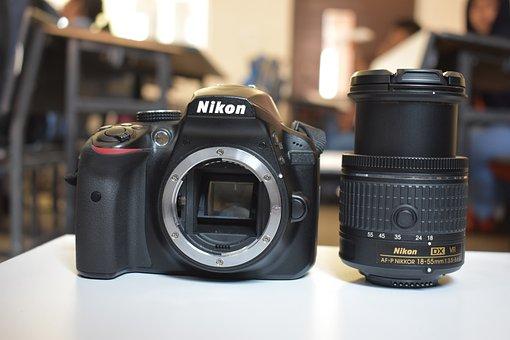 Dslr, Nikon, D3400, Lens, Body, Digital, Technology