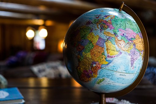 Globe, Map, Earth, Planet, Geography, Travel
