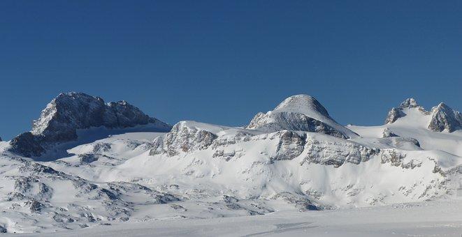 Dachstein, Winter, Panorama, Koppenkarstein, Landscape