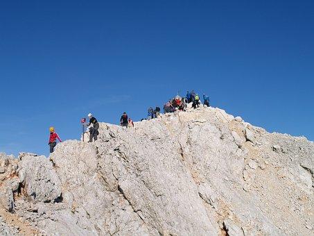 Hiking, Trekking, Active, Alpine, Altitude, Hike, Rocks