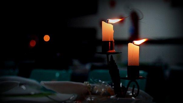 Candle, Dinner, Light Candles, Celebration