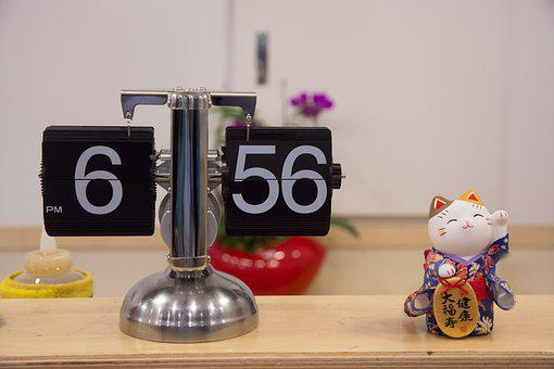 Japan, Japanese, Japanese Restaurant, Clock, Modern