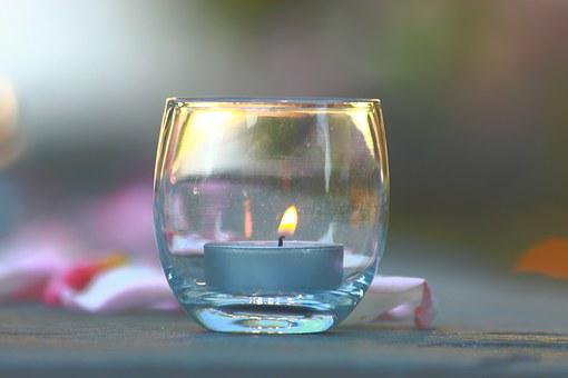 Candle, Wedding, Decoration, Table, Romantic, Glass