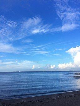 Cloud, Sky, Flowing, Typhoon, Autumn, Dramatic