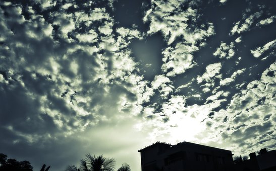 Hdr, Hdr Sky, Sky, Clouds, Dramatic Clouds