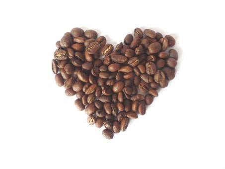 Coffee, Heart, Love, Cup, Valentine's Day, Coffee Beans