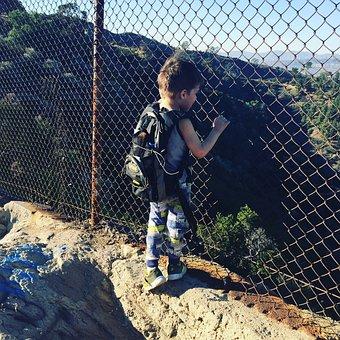 Child, Boy, Climber, Hiker, Age Of 3, Full Of Wonder