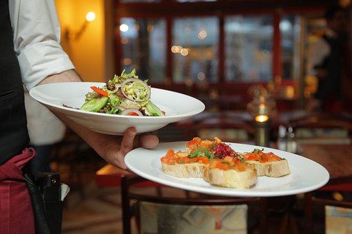Dinner, Salad, Restaurant, Italians, Berlin