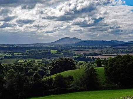 Malvern Hills, Countryside, View, Landscape, Dramatic