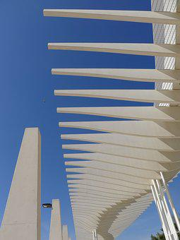 Spain, Malaga, Contrasts, Sculpture, Modern