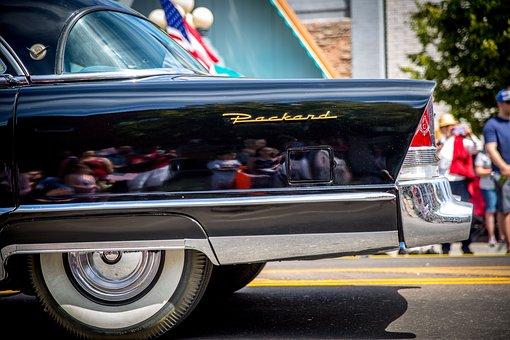 Car, Automobile, Classic, Packard, Chrome