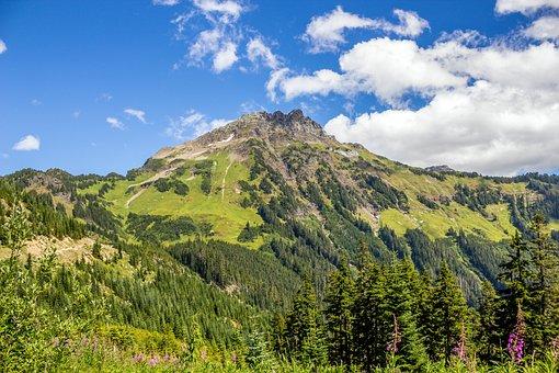 Mt Cheam, Chilliwack, Mountain, Nature, Cloud, Peak