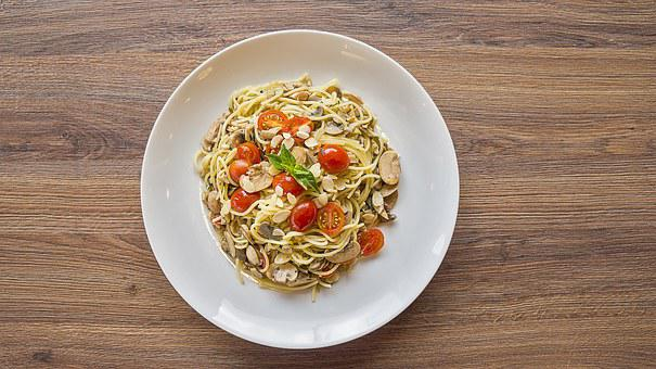 Mass, Plate, Food, Pasta, Folder, Tomato, Table