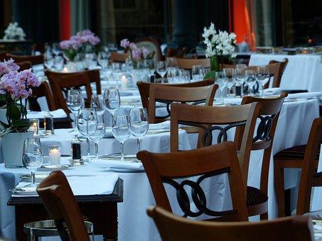 Table, Board, Cover, Dinner, Romantic, Celebration