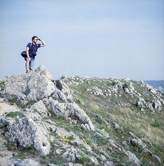 Scout, Hiking, Rest, Young, Guy, Nature, Travel, Hiker