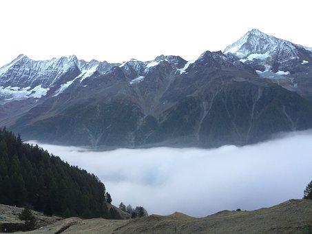 Valais, Mountains, Alpine, Suisse