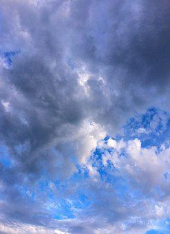 Cloud, Sky, Flowing, Typhoon, Dramatic, Blue Sky