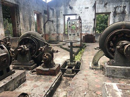Machinery, Bombs, Water