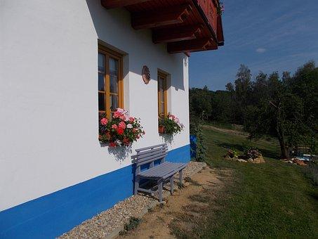 Cottage, Window, Nooks And Crannies, Peace, Rest, Cozy