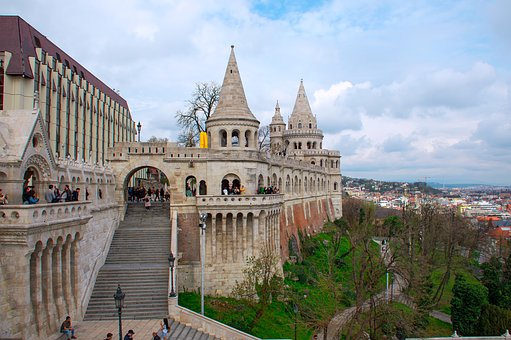 Buda Castle, Hungarian, Building, Window, Architecture