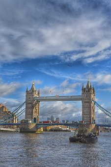 London, Londres, England, British, Uk, Bridge, Tower
