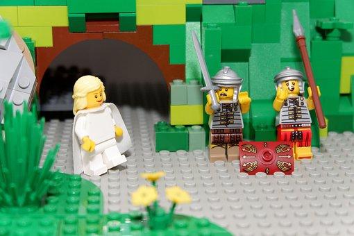 Easter, Spring, Lego, Easter Story, Angel, Christian