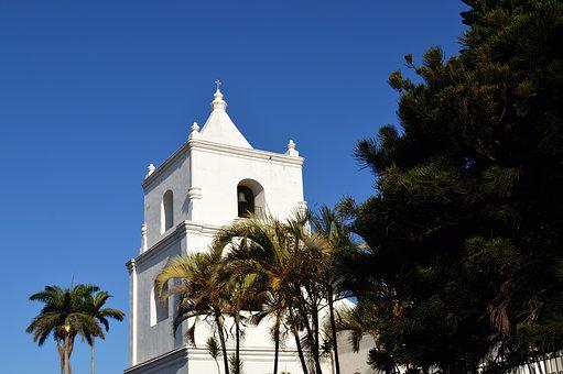 Bell Tower, Church, Architecture, Sky, Religion
